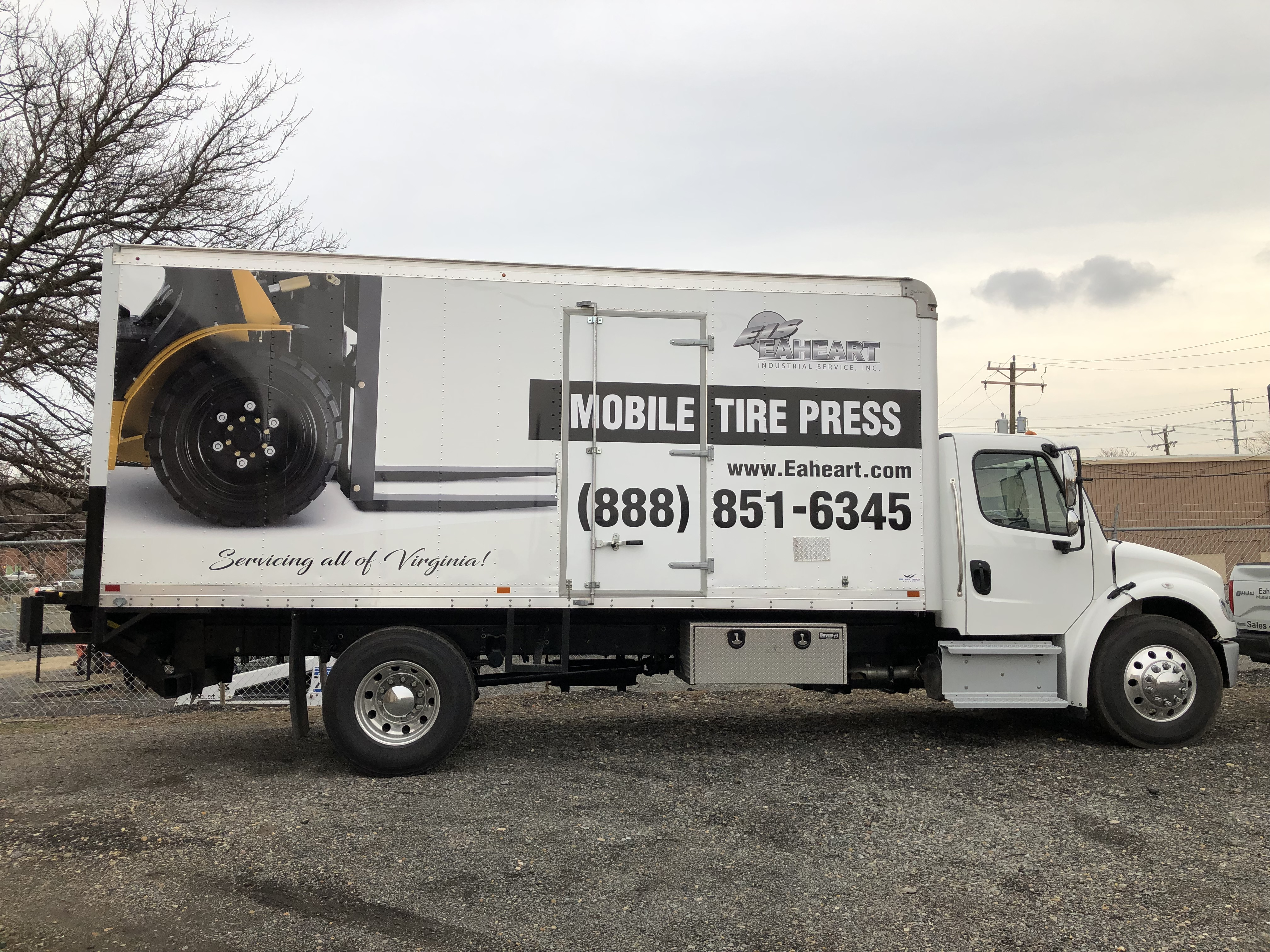 Mobile Tire Service >> Mobile Tire Press Service In Virginia Eaheart