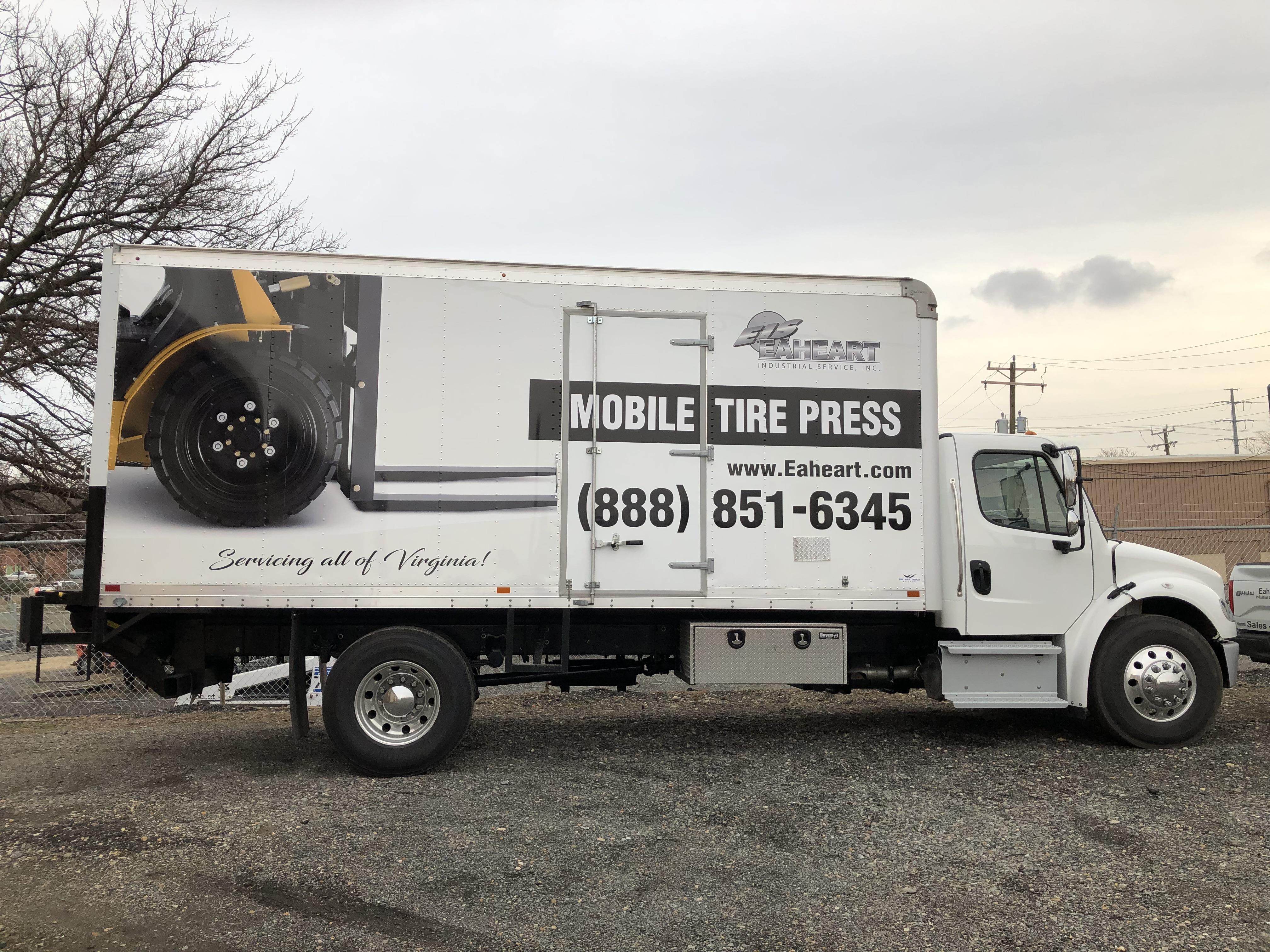 Mobile Tire Service >> Mobile Tire Press Service In Virginia Eaheart