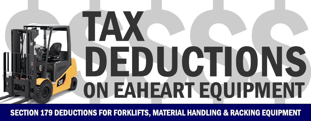 Section 179 Tax Deductions on Equipment